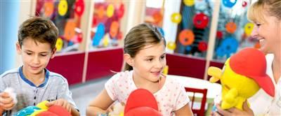 Kinder bei Hotel Kinderbetreuung